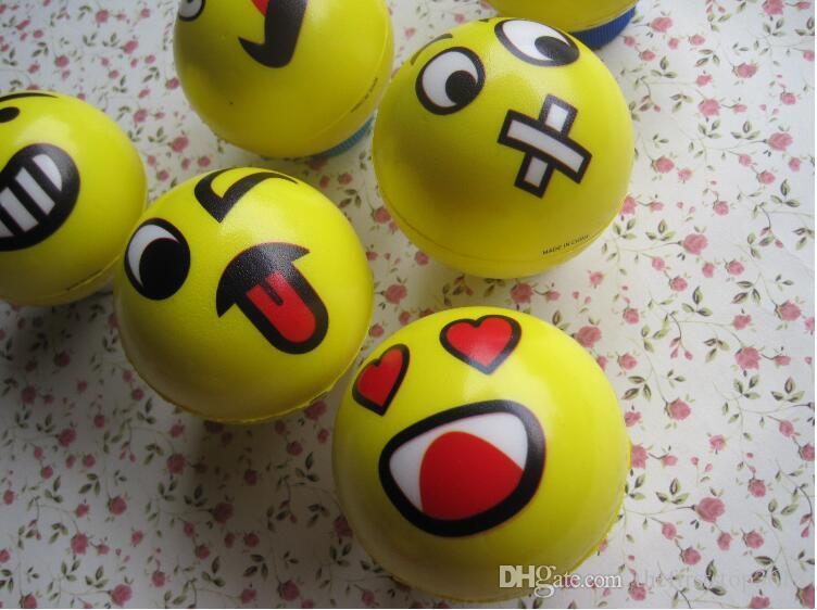 emoji faces squeeze stress ball hand wrist finger exercise stress relief therapy assorted styles new christmas party gifts stress relieving gifts for men