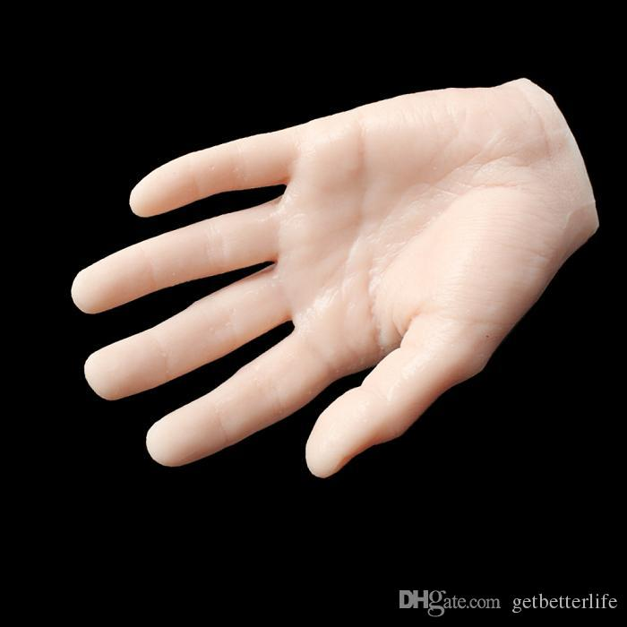 Usa Dispatch Art Practice Hand Model Flexible Movable Soft Fake Hand ...