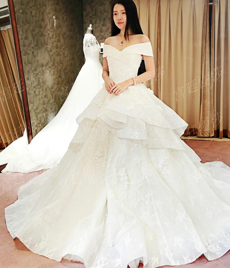 Exelent Korean Wedding Lace Dresses Pic Image Collection - Wedding ...