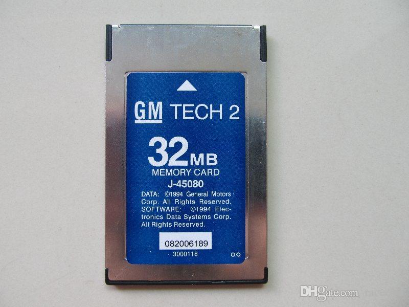 La più recente scheda di memoria di diagnostica Tech 2 32 MB per OPEL GM, Holden, ISUZU, Saab, Suzuki 6 Brands to Chhoose