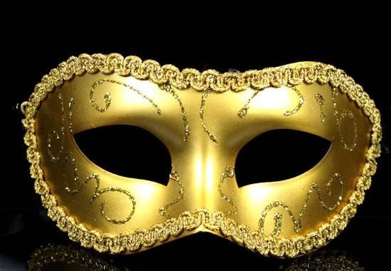 Masquerade Costume Party New Year Christmas Halloween Dance Women Sexy Mix Face Mask Venetian Masks MYY6305