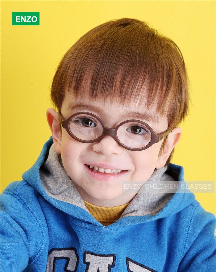 Baby-optische glazen met riemmaat 39/14 Uit één stuk Geen schroefbuigbaar, Siliconen Infant Toddler's Kinderglazen koord