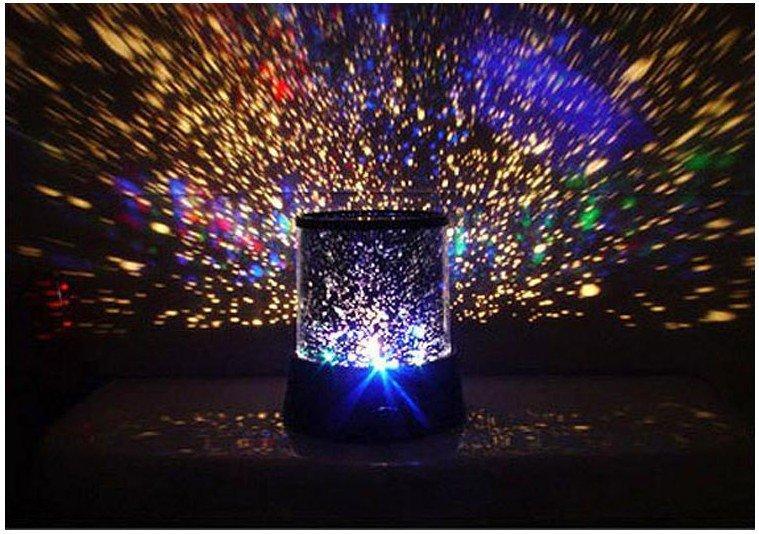 La luz del proyector de la constelación de la estrella del cielo, lámpara dormida del sueño del maestro de la estrella LED, regalo de la Navidad, amo de la estrella