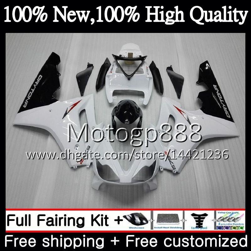 Body For Triumph Daytona 675 02 03 04 05 06 07 08 7PG7 Daytona 675 Glossy white 2002 2003 2004 2005 2006 2007 2008 02-08 Carenatura Carrozzeria