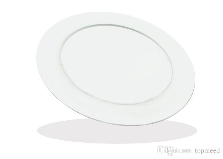 Luce del pannello a led rotondo dimmerabile SMD2835 3W 9W 12w 15w 18w 21w 25w 110-240V LED Soffitto da incasso a soffitto a luce LED LED Lampada da incasso LED + Driver