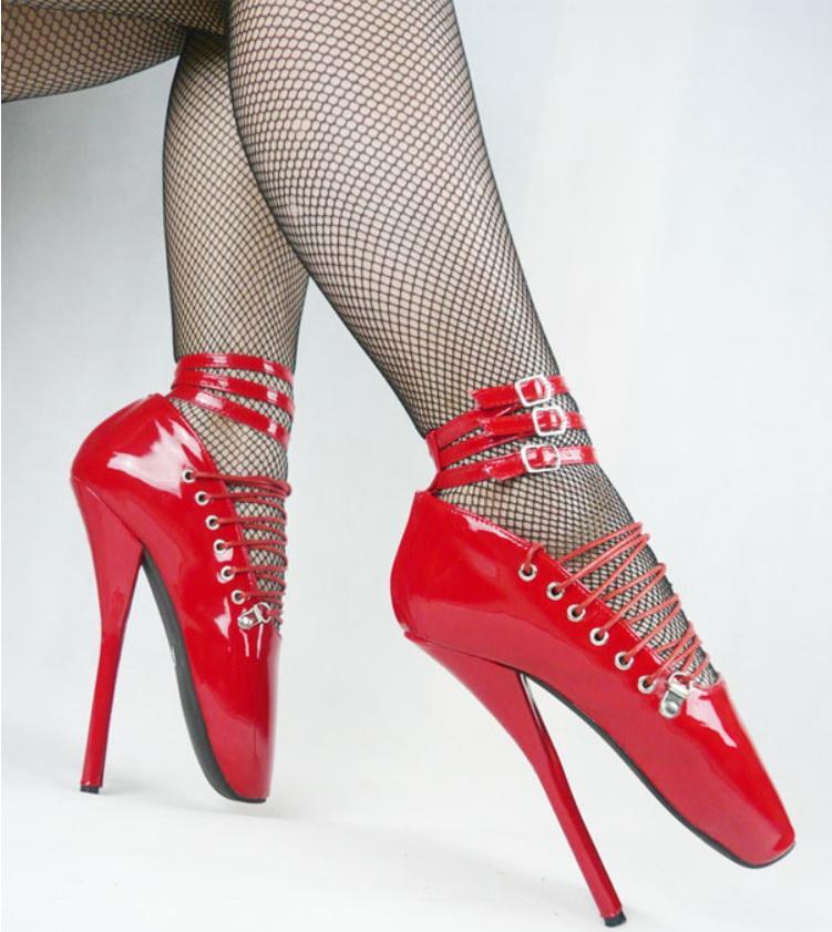 الجنس ولعب اطفال للجنسين bdsm sm لعبة تلعب صنم الفخذ أحذية عالية عبودية حدوة الكعب خاص مثير أحذية عالية الكعب الباليه الغرض