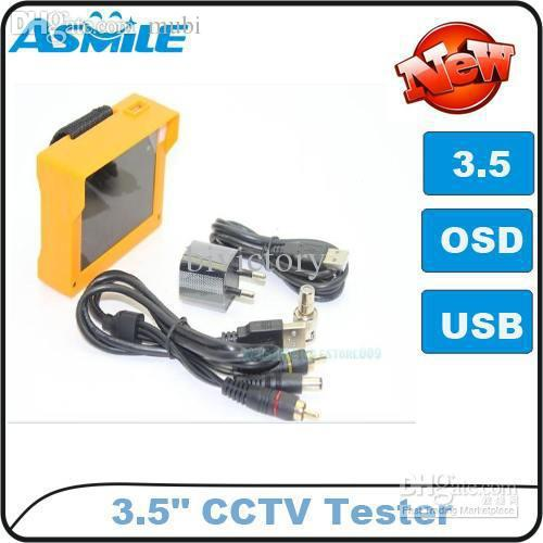 """Wholesale-Wholesale - CCTV Camera Test Monitor Portable 3.5"""" inch TFT LCD Audio Video Security Tester"""