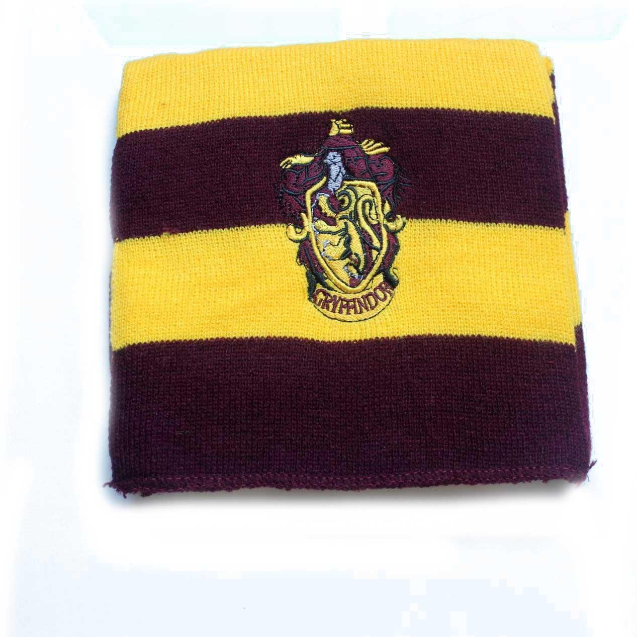 Harry Potter Schal Strickschal Gryffindor Slytherin Hufflepuff Ravenclaw Kostüm