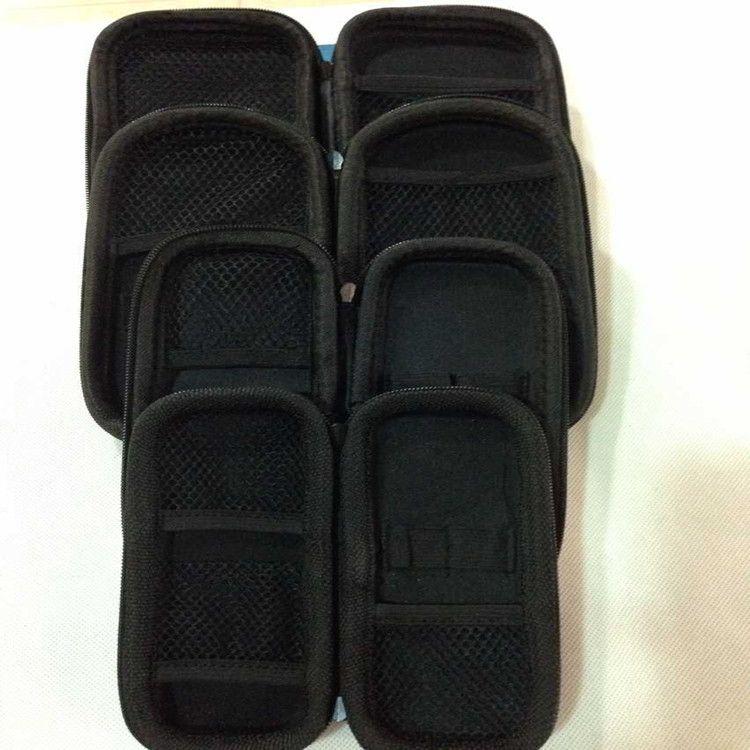 Coin de cigarette électronique Cas de transport Petit / Moyen / Big Zip de fermeture à glissière X6 E CIG Coloré Ego Case Kit de démarrage