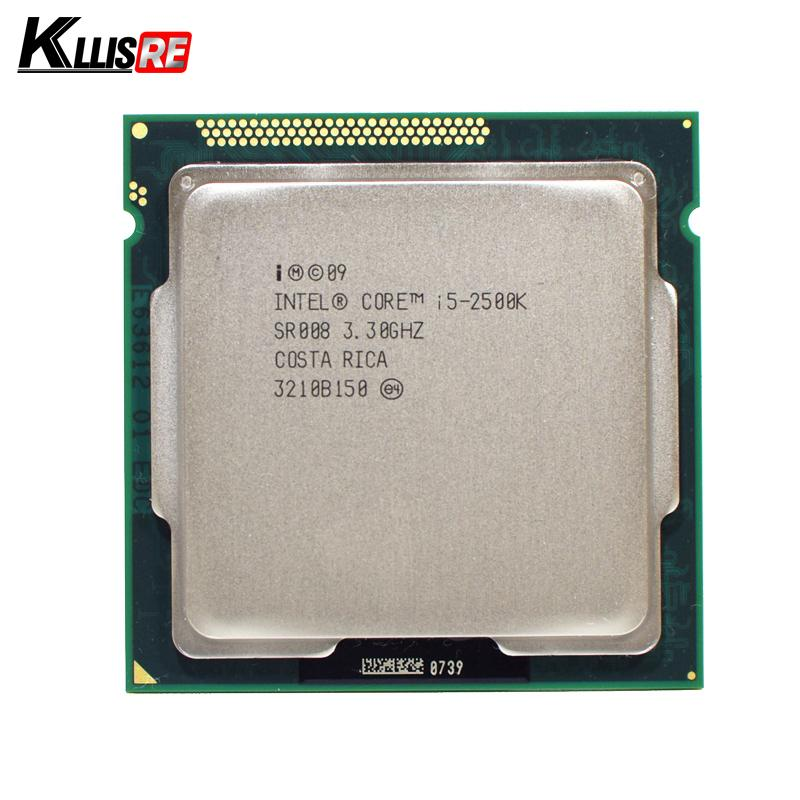 Processador Intel i5 2500K Quad-Core 3.3GHz LGA 1155 TDP: 95W Cache de 6MB com Gráficos HD CPU Desktop i5-2500k