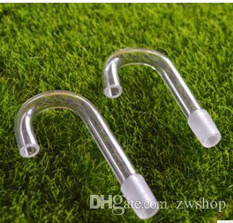 Direktverkauf Wasserpfeifen Armaturen Glas Wasserpfeife rauchen Set Standards (50pcs / lot)