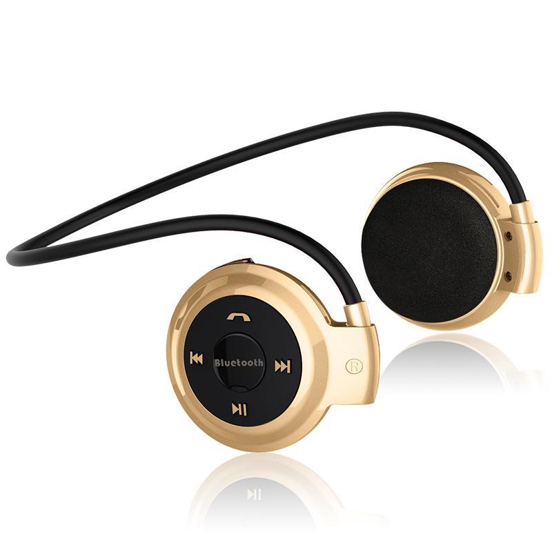 2015 Mais Novo Mini 503 Esporte Bluetooth 3.0 Sem Fio Fones De Ouvido Fones De Ouvido Estéreo de Música + Micro SD Slot Para Cartão + Rádio FM Frete Grátis