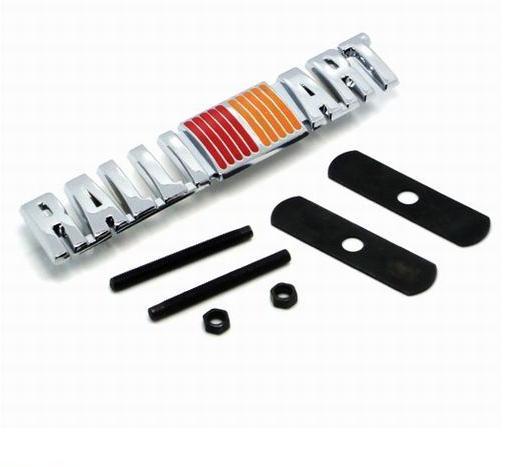 Ausgezeichnete Chrome Plated Metal Grille Auto Abzeichen Aufkleber für Mitsubishi Asx, Lancer, Outlander, Galant, Pajero, Ralliart Etc.car Emblem