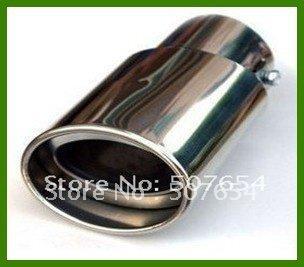 送料無料! Mazda 3 2011-2014のための高品質ステンレス鋼マフラー/サイレンサー