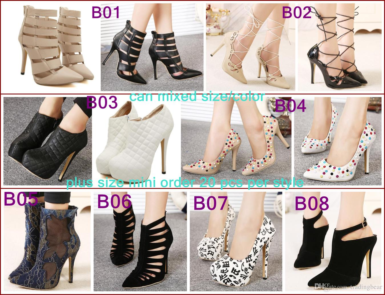 d7ff207f12 Lowest Price Winter Boots Ankle Boots Women Shoes Wedding Shoes Pumps Sexy  High Heels Plus Size Shoes Chukka Boots Ladies Shoes From Tradingbear, ...