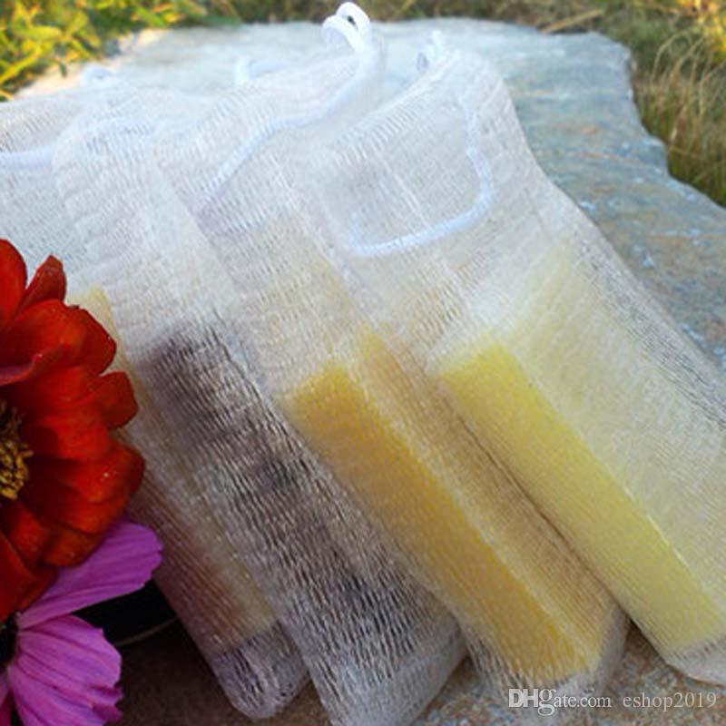 Soap Blister Net Cleanser Handmade Soap Bubble Net Antibacterial Cleansing Foam Net Bubble Bags Free Shipping