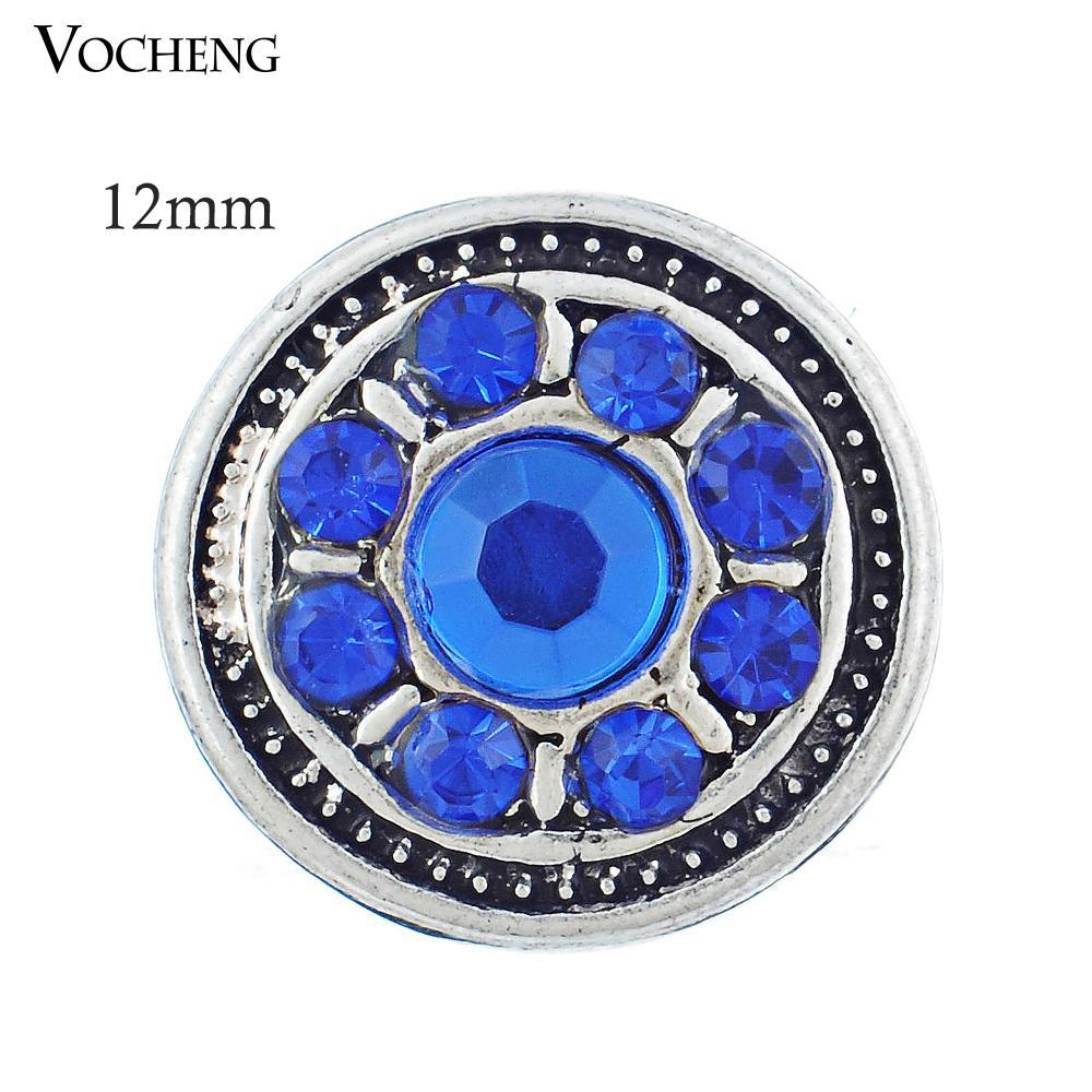 12 ملليمتر الصغيرة القطعة التقط زر مجوهرات diy noosa مجوهرات الإكسسوار جميلة (Vn-234)