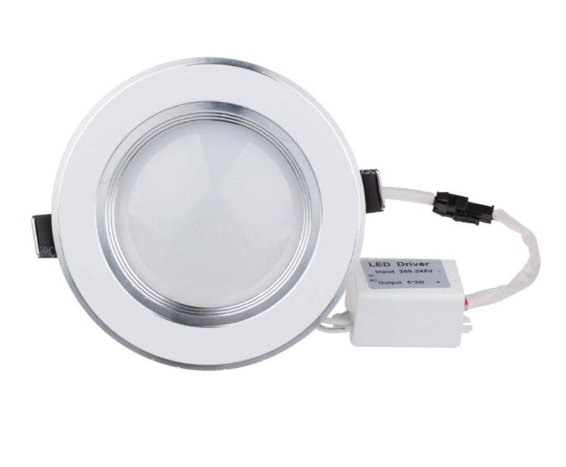 3W 5W 7W 9W 12W Ultra Thin Led Down Light Lamp White / Warm White Ceiling Downlight With CE ROHS Approval LED ceiling