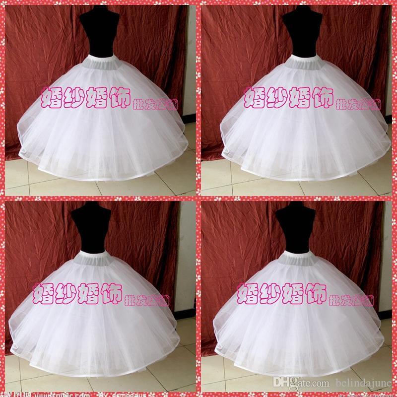 عالية الجودة ثمانية طبقات لا الأطواق تنورات لل زفاف أثواب الزفاف الأبيض اورجانزا الكرة ثوب تحتية ل اكسسوارات الزفاف قماش قطني