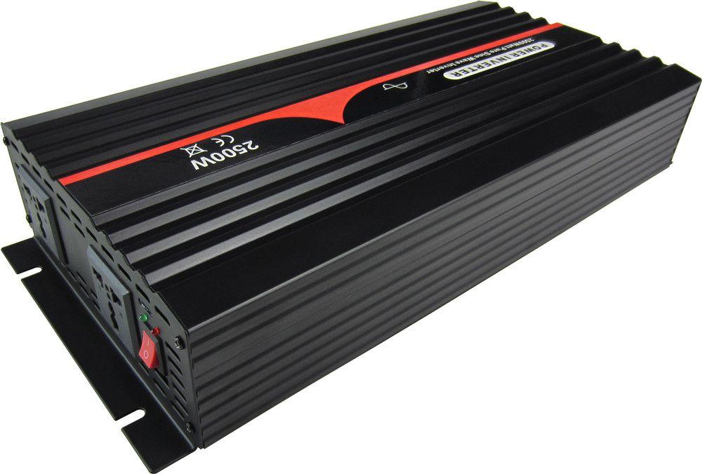 Бесплатная доставка 24VDC к 220VAC 50Гц для Euro подключи 2500W Чистая синусоида Инвертор автомобиля