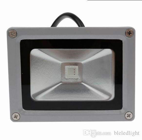 Zmiana kolorów RGB LED reflektor 10 W IP65 Wodoodporna dla ściany Oświetlenie Dekoracyjne Darmowa Wysyłka