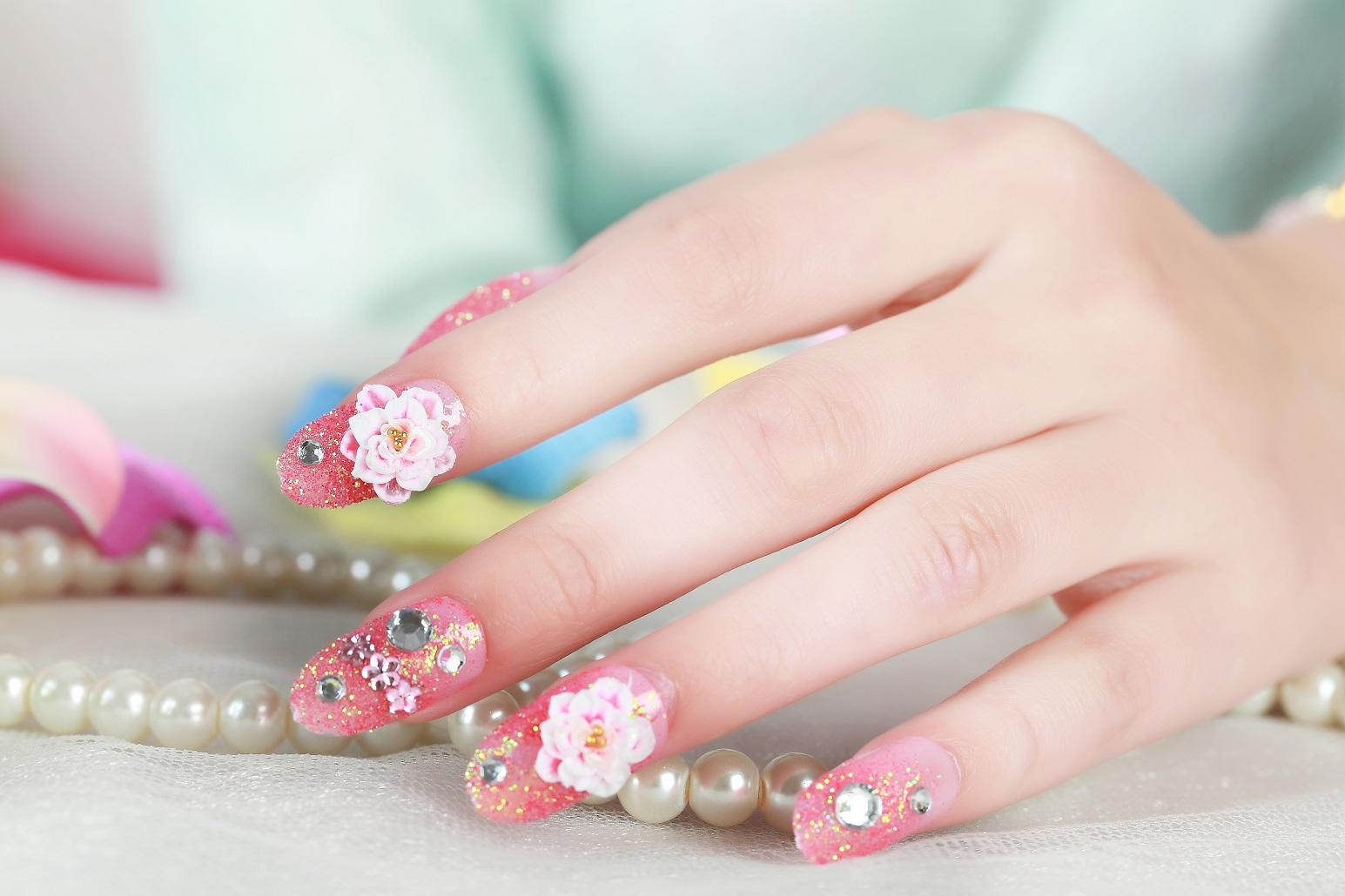 2015 hot sales False Art Design Tips French Decorated Fake Nail kids ...