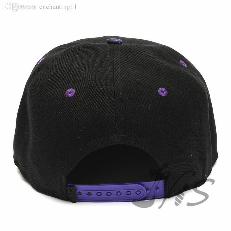 Berretto da baseball regolabile da uomo nero Galaxy Snapback Snapback Hat