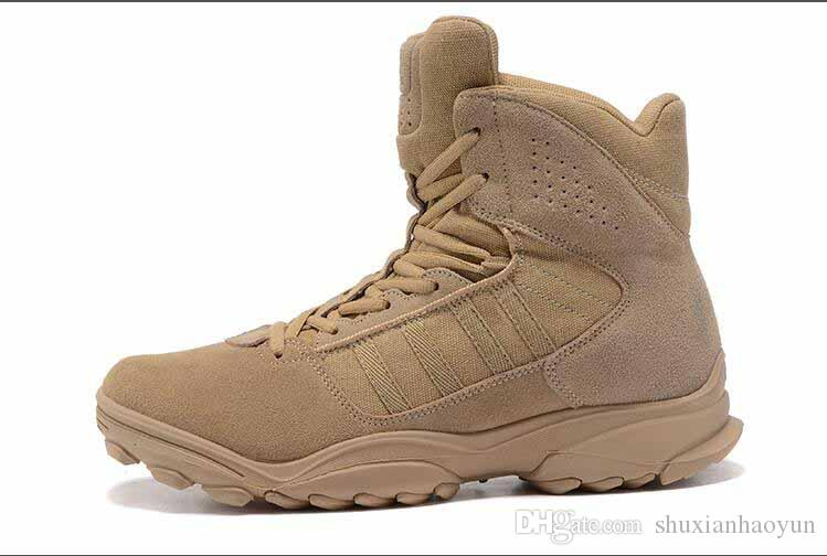 GSG 9.3 Special Help Desert Tactics Men Climbing Hiking Combat Training Running Shoes Outdoor Tactical Boots Desert Boots Size 40 46 Shoes For Sale