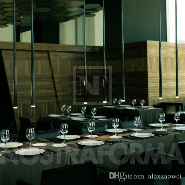 modern bar lighting. Hot Selling Modern Vibia Slim LED Multi Light Pendant Asparagus Ceiling Lamp Fixture Bar Lighting O