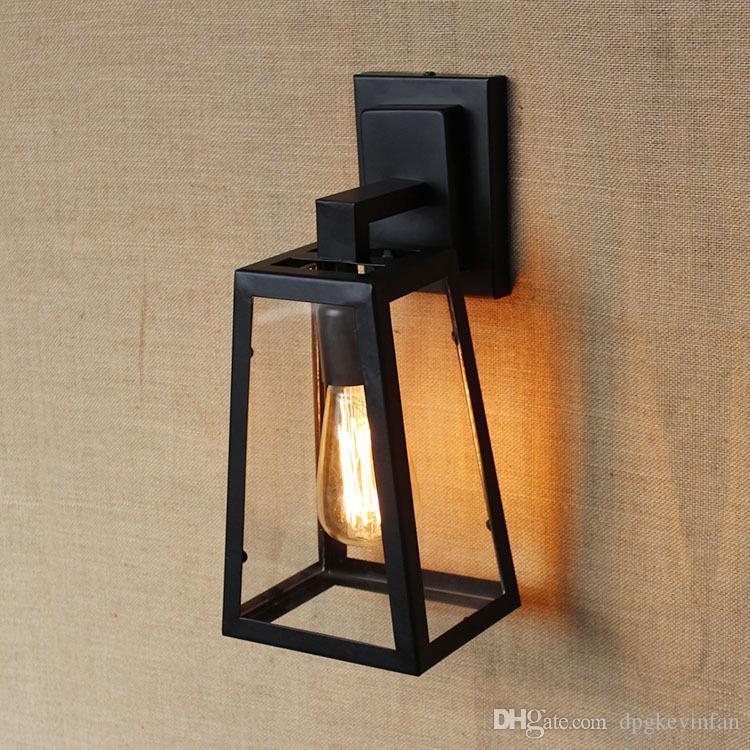 Loft Vintage Modern Wall Led Lamp Antique lights Black Classic Sconce for Home Indoor Bedside Up Down Bed Retro Cheap Lighting