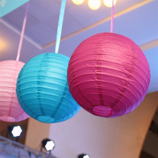 How to Make Paper Lanterns - Cute Round Oriental Style | 650x650