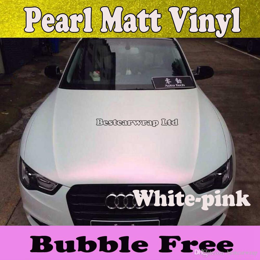 matte white vinyl wrap