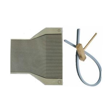 Fcarobd flat ribbon cable per vw fox cluster cruscotto display lcd dead pixel fix con la punta T saldatura ferro testa striscia di gomma