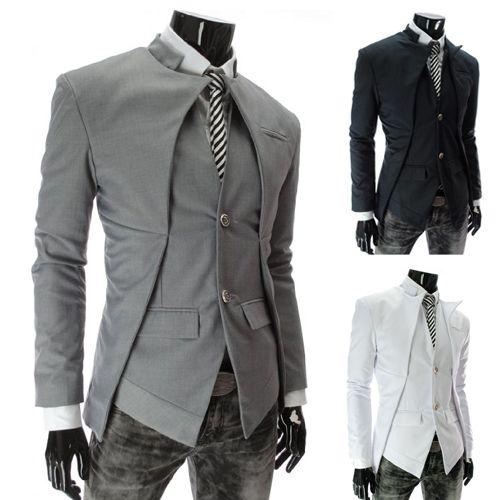 Hot sale New British Style Slim Men Suits Mens Stylish Blazer Casual Business Fashion Jacket Men's Clothing free shipping