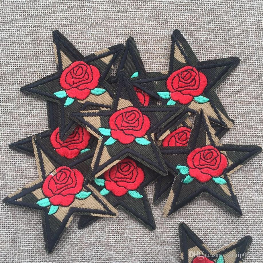 Free Shipping Fashion Badges embroidered Appliques DIY accessory garment patch BT1211134