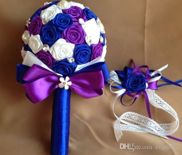 Stunning Purple And Blue Wedding Flowers Ideas - Styles & Ideas 2018 ...