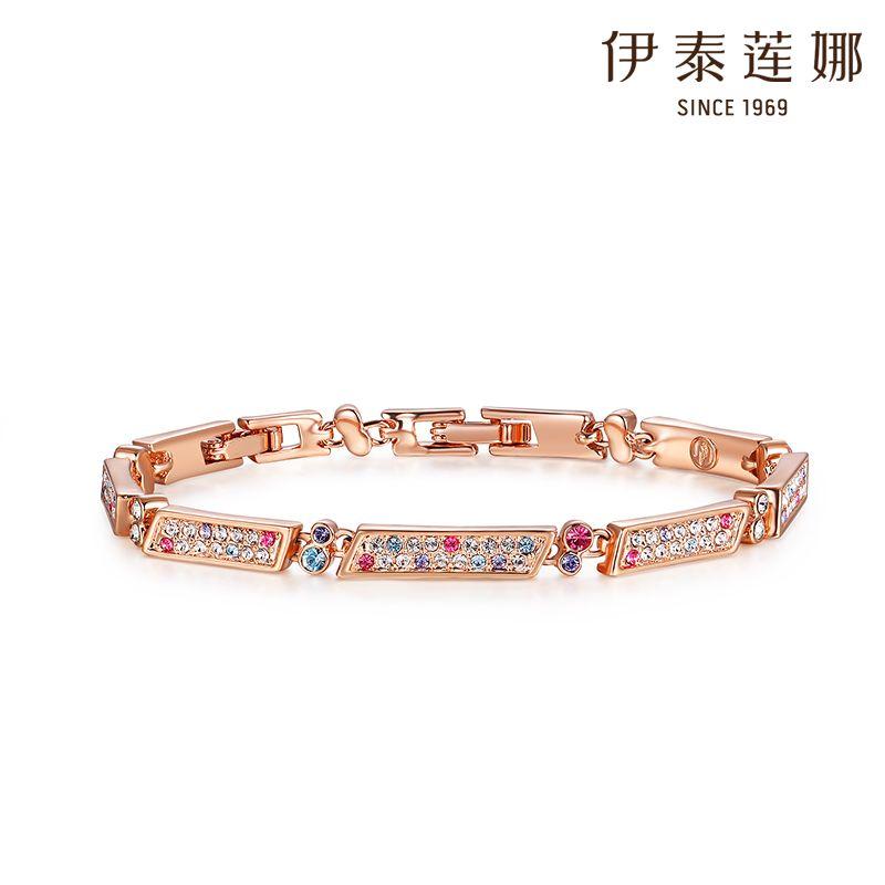 Italina female Austrian crystal bracelet Korea imported fashion simple female bracelet Magic Flute