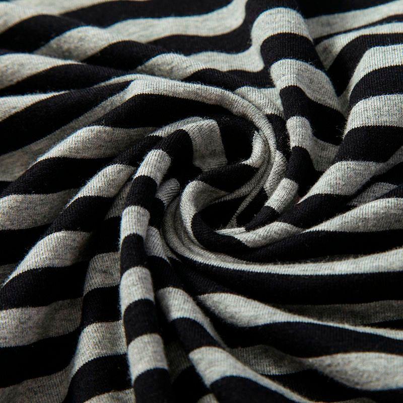 2016 Men t shirts tyga hip hop swag striped long sleeve t shirt extended kanye west men oversized tee shirt homme t shirt men (9)