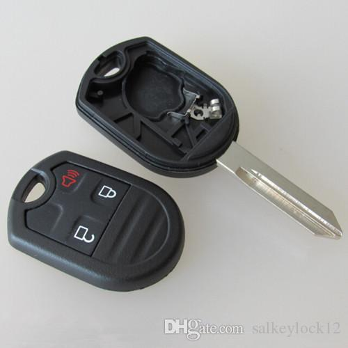 High Quality Car Replacement Key Blank For Ford Edge  Button Remote Key Shell