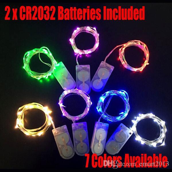 Envío libre de DHL (100PCS / LOTE) Micro alambre de cobre 20 LED micro luz de la secuencia de hadas / LED luz de semillas / LED Luz de hadas para Eiffel jarrón