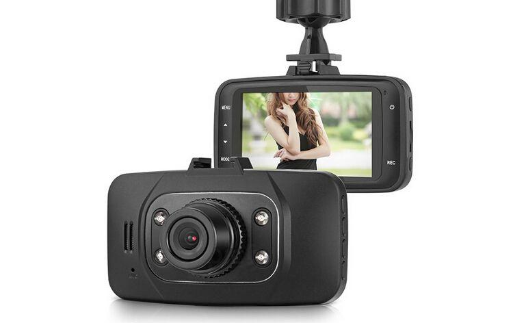 "GS8000L original 1080P Full HD 2.7 ""pulgadas Pantalla TFT LCD G-sensor 140 ° grado Coche DVR Dash cam Conducción en carretera Grabadora de video Cámara HDMI IR"