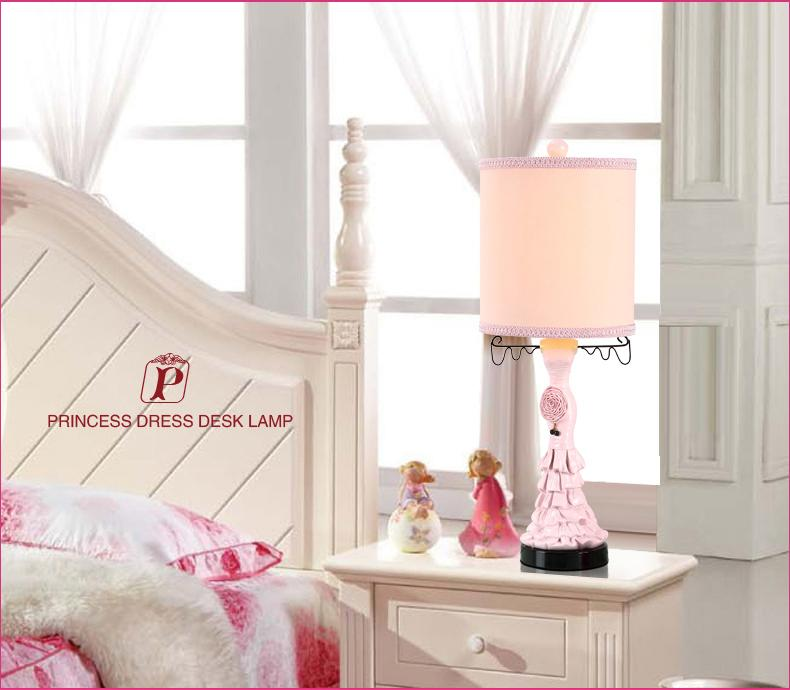 2019 Rural Lovely Princess Desk Lamp Korean Girls Bedroom Berth Lamp Table  Lamp Creative Fashion Children\'S Desk Lamp From Andylover, $201.01 | ...