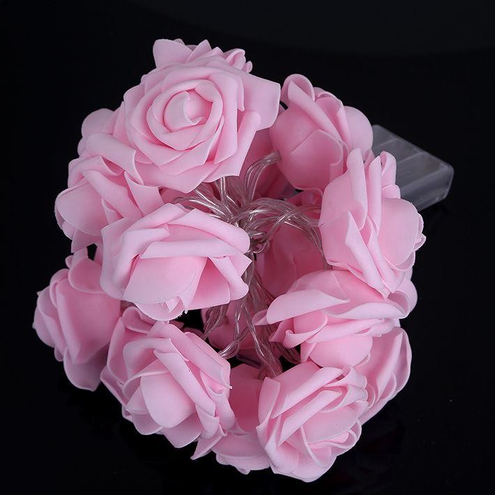 2m 20 led 4m 40 led rose flower fairy lights valentine string lights 2m 20 led 4m 40 led rose flower fairy lights valentine string lights for decorations mightylinksfo