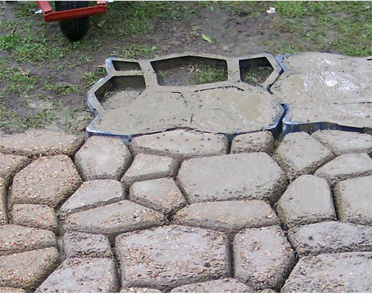 2019 Pavement Mold For Making Pathways For Your Garden Concrete Garden  Molds/Paving Mold/Patio Mold From Ishion, $36 19 | DHgate Com