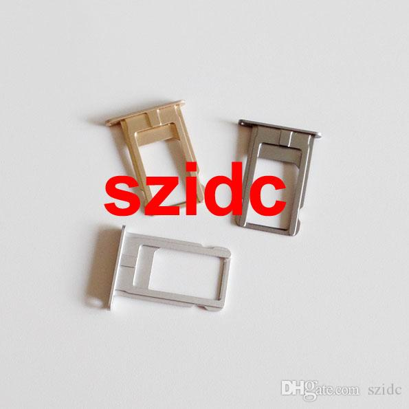 """Original New Nano Sim Card Tray Slot Holder Replacement Parts For iPhone 6 Plus 5.5"""" Gold/Silver/Gray Free Shipping"""