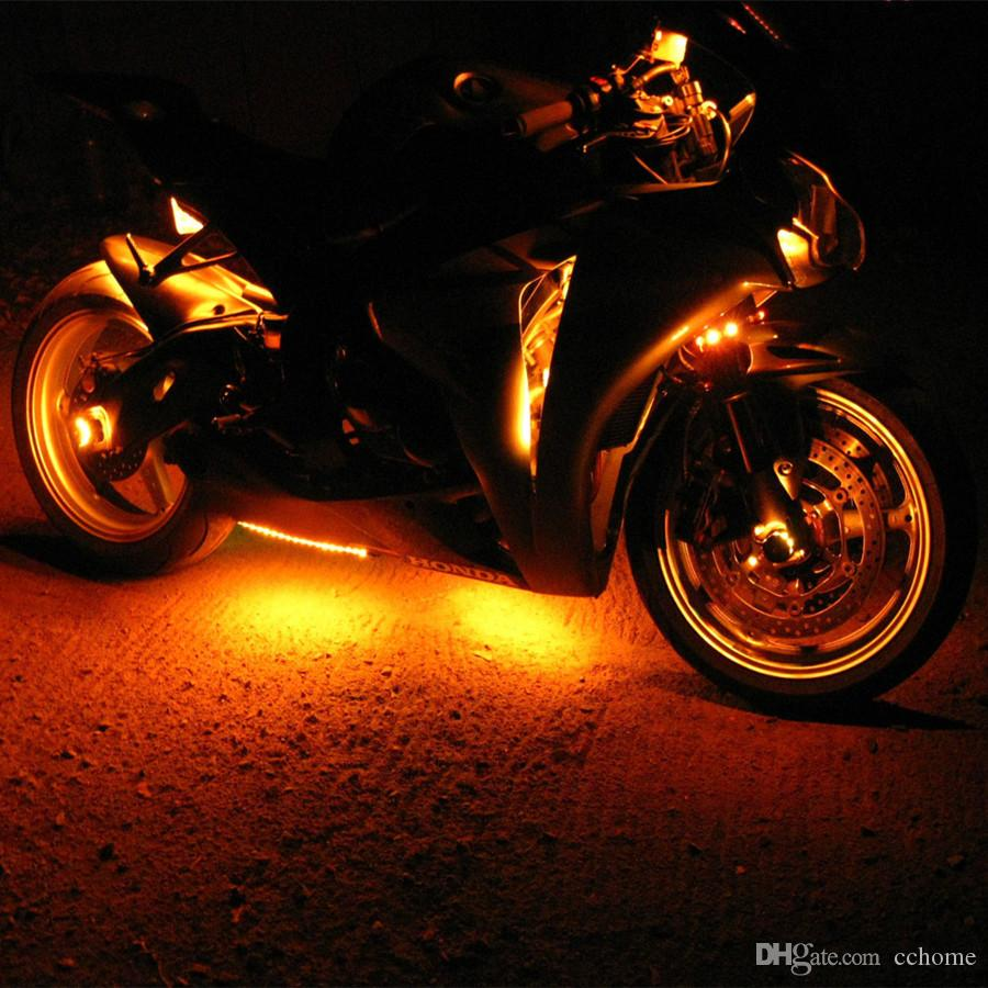 Car Light Decoration Motorcycle Led Light Kit Multi Color 3 Size Flexible Strips With