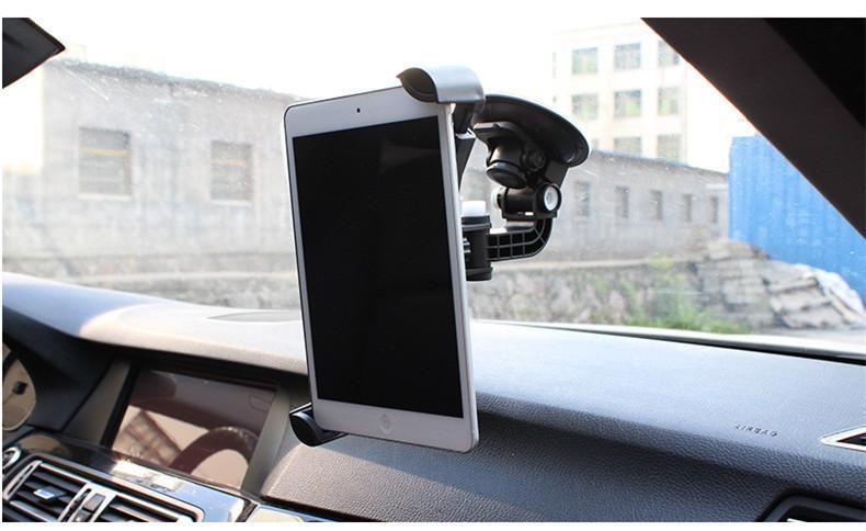 """Universal Car Tablet Holder Mount Holder Galaxy Tab 4 Tablet Holder en el coche 10 """"Soporte Coche Reposacabezas Tablet Houder Stand Sucker"""