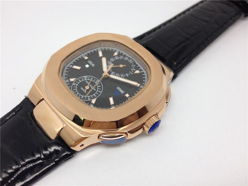 New fashion high quality top sale Male watch stainless watches quartz movement leather strap wristwatch 0027