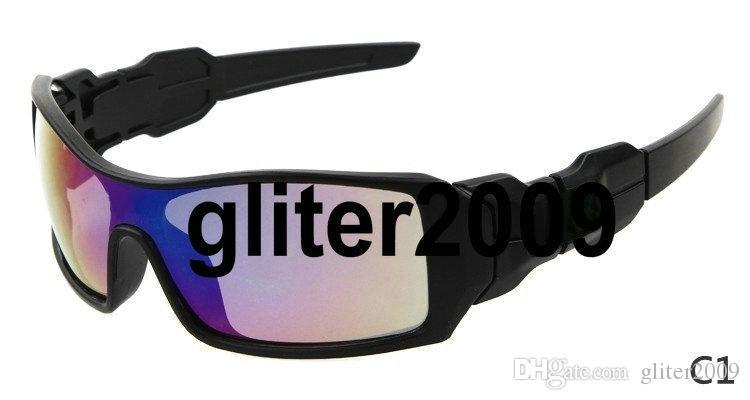 حار بيع الرجال أزياء الرياضة في الهواء الطلق نظارات التزلج على الجليد نظارات ركوب الدراجات نظارات واقية من الرياح 8 ألوان