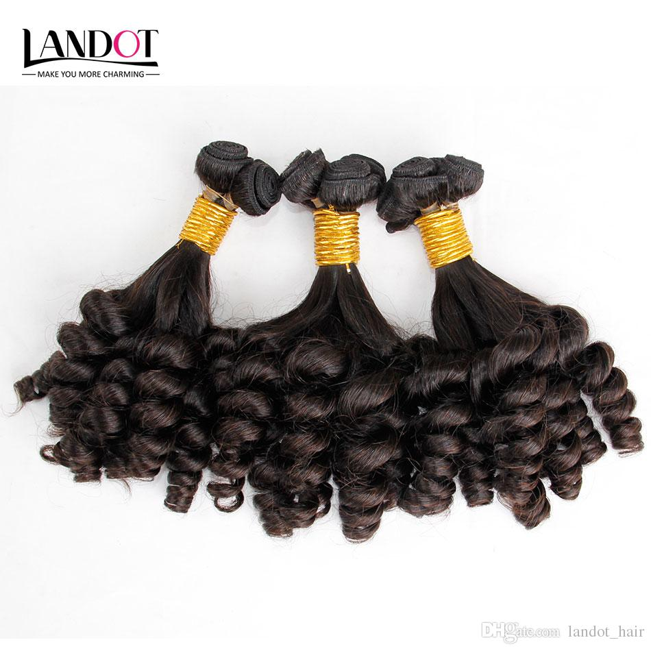Mongolian Curly Virgin Hair Aunty Funmi Human Hair Weave Bundles Bouncy Spiral Romance Loose Deep Curls Mongolian Remy Human Hair Extensions